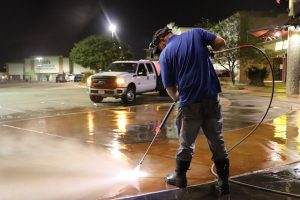 Commercial Pressure Washing Service