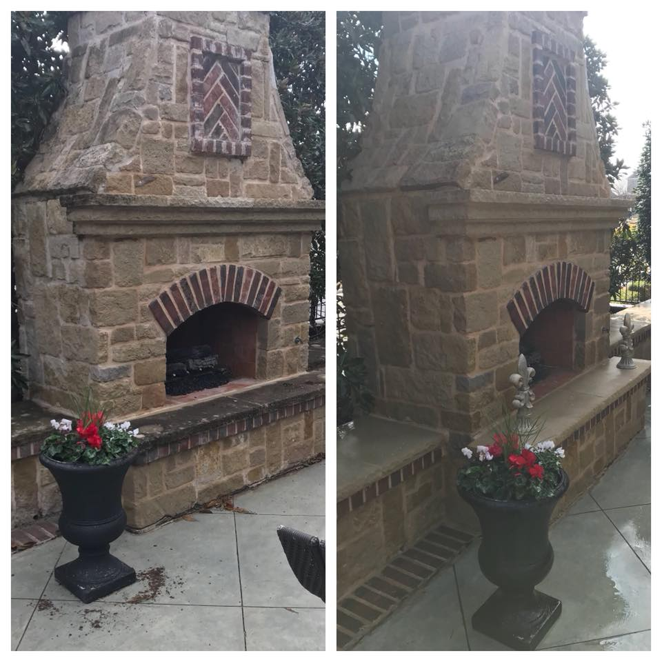 Restore Your Outdoor Fireplace